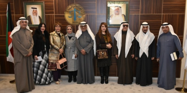 "Kuwait Lawyers Society celebrates lawyer ""AlKhateeb"""